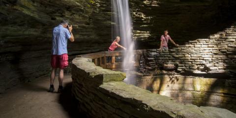 Cavern Cascade at Watkins Glen State Park