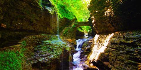 Waterfalls Watkins Glen State Park