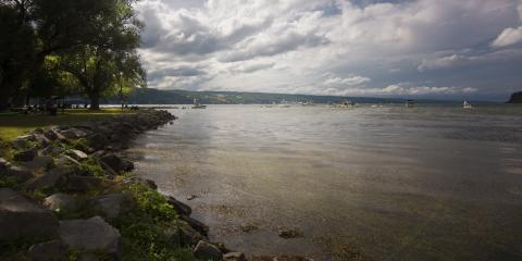 Seneca Lake from Clute Park