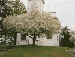 Historic churches provide a romantic setting