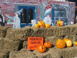 Pumpkin carving contest - fall in the Finger Lakes