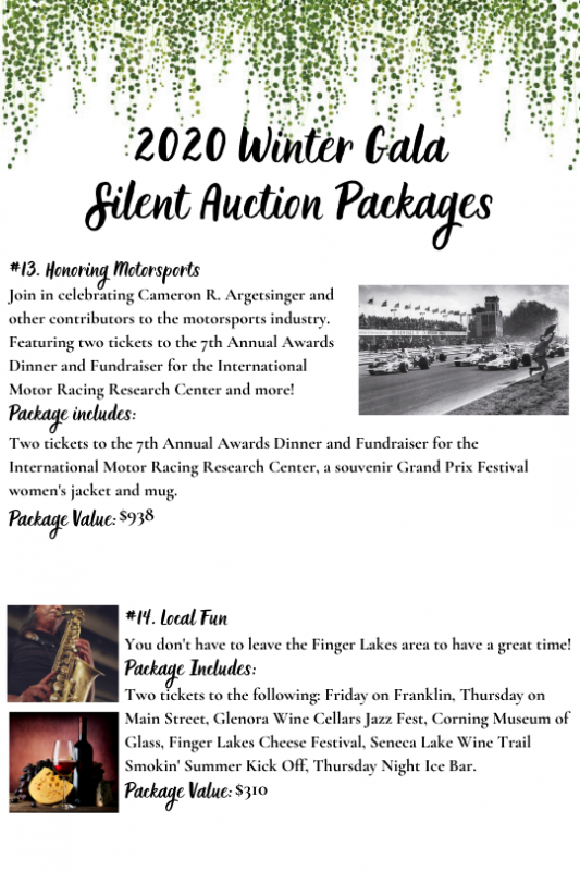 Winter Gala 2020 Auction Image