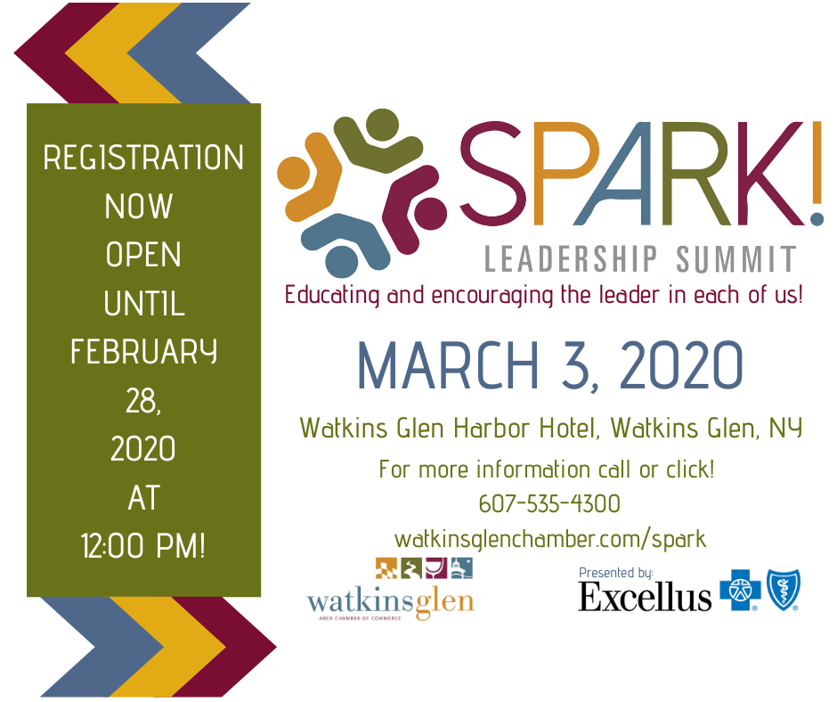 SPARK! Registration Open