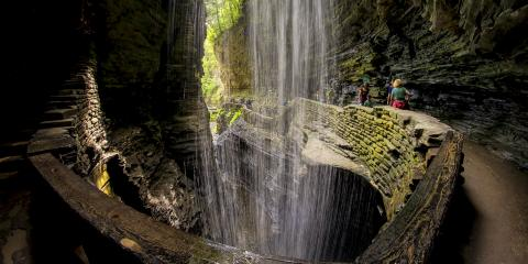 Cavern Cascade at Watkins Glen State Park