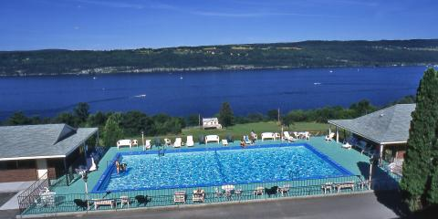 Beautiful views overlooking Seneca Lake