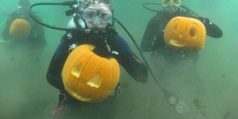 Scuba diving in Seneca Lake
