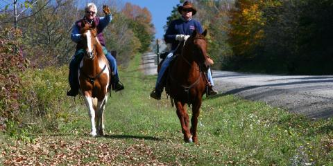 Horseback riding in the Finger Lakes