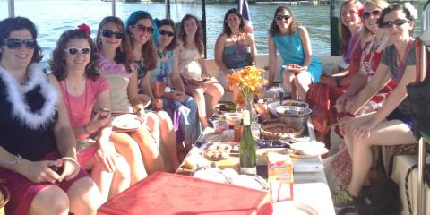 Enjoy a wine boat tour on Seneca Lake