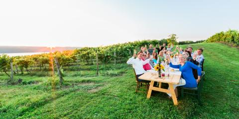 Wine and dine in the heart of the Finger Lakes!
