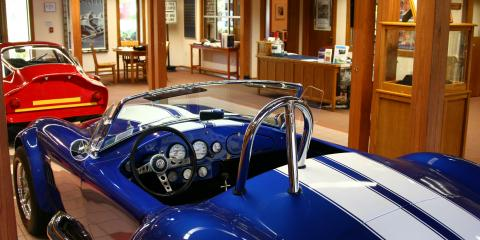 See the history of auto-racing at the International Motor Racing Research Center
