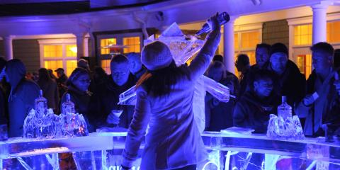 Ice Bar at the Watkins Glen Harbor Hotel