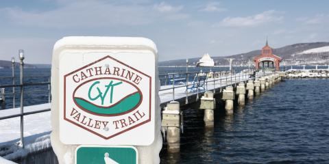 Catharine Valley Trail and Seneca Lake