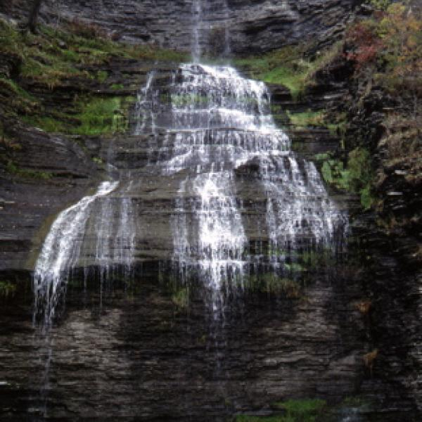 Waterfalls   Tourism Information for Watkins Glen and ... on