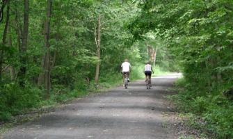 Enjoying the Catharine Valley Trail