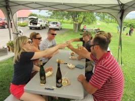 Toast to life in the Finger Lakes!