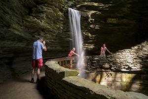 19 waterfalls at Watkins Glen State Park