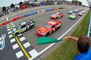 Green flag flies at Watkins Glen International