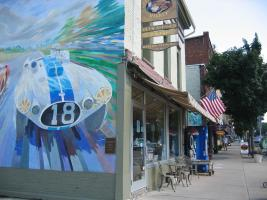 Quaint downtown villages offer dining and shopping