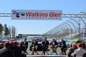 Ribbon cutting at Watkins Glen International
