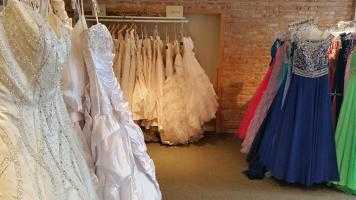 Find your perfect wedding dress at JBK Bridal and Prom