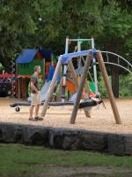 Playgrounds offer hours of fun