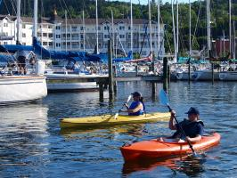 Enjoy a paddle on Seneca Lake