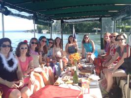 Enjoy a wine tour on the water!