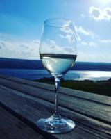 Seneca Lake is dotted with over 50 wineries, plus craft breweries and a distillery.