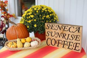 Seneca Sunrise Coffee in Watkins Glen