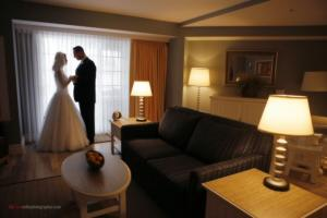 Winter weddings at the Harbor Hotel