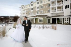 Winter weddings are truly stunning in the Finger Lakes
