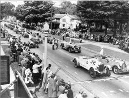 Historic race in Watkins Glen, New York