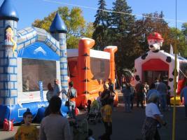 Kids bounce houses